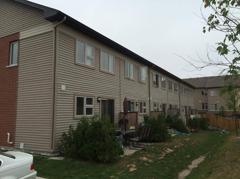Siding - Townhouse Complex - Exterior Elements